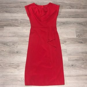 Stop Staring Alicia Estrada Red Dress (Size 6)
